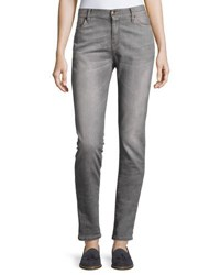 Brunello Cucinelli Skinny Five Pocket Jeans Neutral Pattern