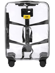 Crash Baggage 43L 4 Wheel Share Transparent Trolley