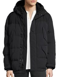 Rag And Bone Arctic Ezra Down Parka Coat Black