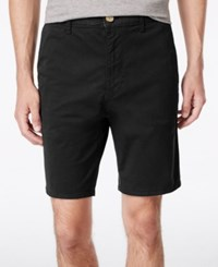 American Rag Men's Stretch Twill Shorts Only At Macy's Deep Black