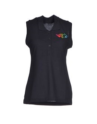 Tua By Braccialini Polo Shirts Black