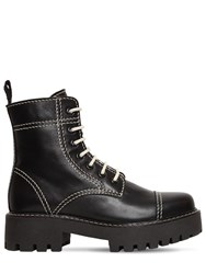 Alexachung 30Mm Military Leather Boots Black