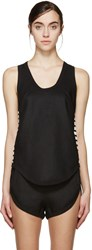 Denis Gagnon Ssense Exclusive Black Linen Tank Top
