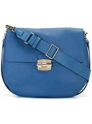 Furla Hobo Shoulder Bag Blue