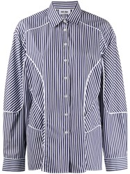 Each X Other Striped Panelled Shirt 60