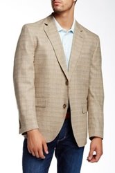 Kroon Brown Tweed Taylor Sport Coat Beige