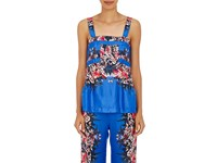 Warm Women's Kai Floral Cami Blue