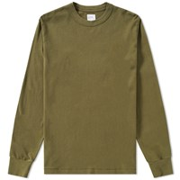 Les Basics Le Long Sleeve Tee Green