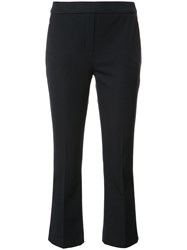Elie Tahari Cropped Trousers Blue