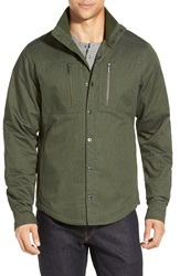 Nau Utility Work Shirt Hemlock Heather