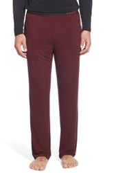 Naked Stretch Lounge Pant Red