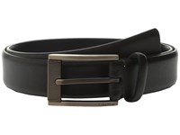 Calvin Klein 35Mm Feather Edge Strap And Harness Buckle Belt Chocolate Men's Belts Brown