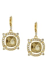Women's Louise Et Cie Pave Crystal Cluster Earrings