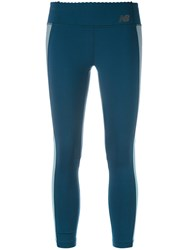 New Balance Grove Cropped Leggings Blue