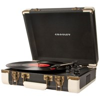 Crosley Executive Usb Portable Turntable Black
