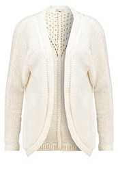 Only Onlpointy Cardigan Cloud Dancer Off White