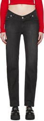 Opening Ceremony Black Dip Jeans