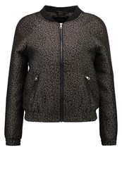 Only Petite Onlzita Bomber Jacket Tarmac Dark Brown