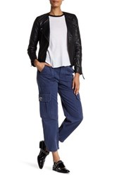Marc By Marc Jacobs Cropped Cargo Pant Blue