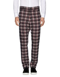 Aganovich Casual Pants Brick Red