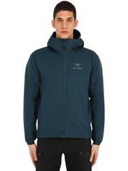 Arc'teryx Atom Lt Hooded Nylon Jacket Petrol