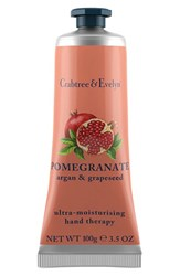 Crabtree And Evelyn 'Pomegranate Argan And Grapeseed Oil' Ultra Moisturising Hand Therapy 0.9 Oz 0.9 Oz. No Color