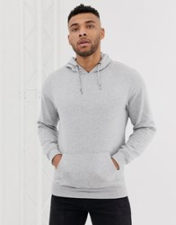 Soul Star Basic Hoodie In Grey