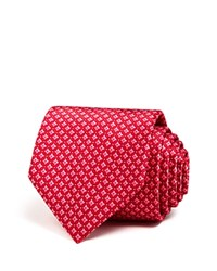 Bloomingdale's The Men's Store At Diamond Circle Classic Tie Red