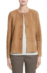 Lafayette 148 New York Women's Tansy Suede Jacket