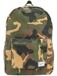 Herschel Supply Co. Camouflage Backpack Cotton