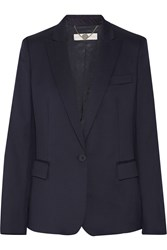 Stella Mccartney Ingrid Wool Blazer Navy