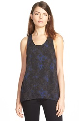 Eleven Paris 'Ping' Print Racerback Tank Moon Marble