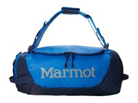 Marmot Long Hauler Duffle Bag Small Peak Blue Vintage Navy Duffel Bags