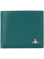 Vivienne Westwood Foldover Cardholder Men Leather One Size Green
