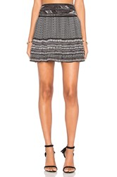 Twelfth St. By Cynthia Vincent Short Pleated Skirt Black