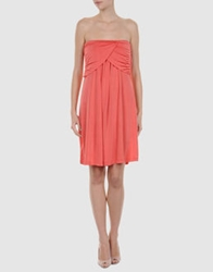 Lo Not Equal Short Dresses Coral