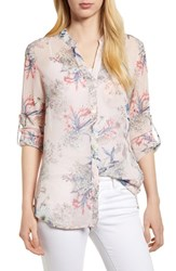 Kut From The Kloth Jasmine Top Pale Pink