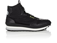 Givenchy Mixed Material Sneakers Black