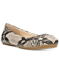 Fergalicious Gale Flats Women's Shoes Natural Snake