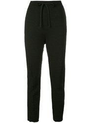 Forme D'expression Curved Leg Pullon Trousers Black