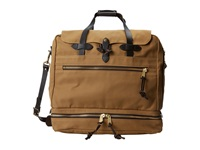 Filson Outfitter Travel Bag Tan Weekender Overnight Luggage