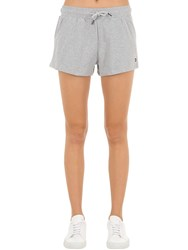 Tommy Hilfiger Cotton Jersey Shorts Light Grey