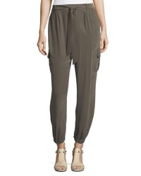 Go Silk Belted Cargo Pants Plus Size Basil