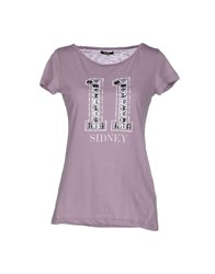 Duck Farm Topwear T Shirts Women Dove Grey