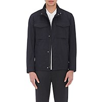 Theory Men's Tech Fabric Field Jacket Navy
