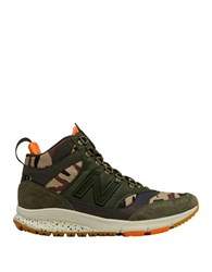 New Balance Camo Suede Blend Sneakers