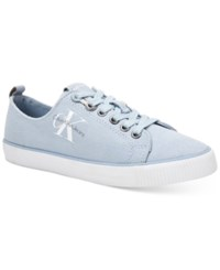 Calvin Klein Jeans Women's Dora Logo Sneakers Women's Shoes Chambray