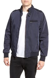 Members Only Iconic Racer Jacket Navy