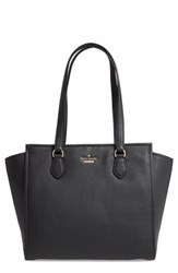 Kate Spade New York Jackson Street Hayden Leather Satchel Black
