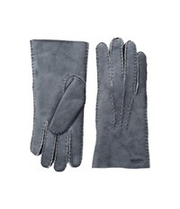 Hestra Sheepskin Gloves Grey Dress Gloves Gray